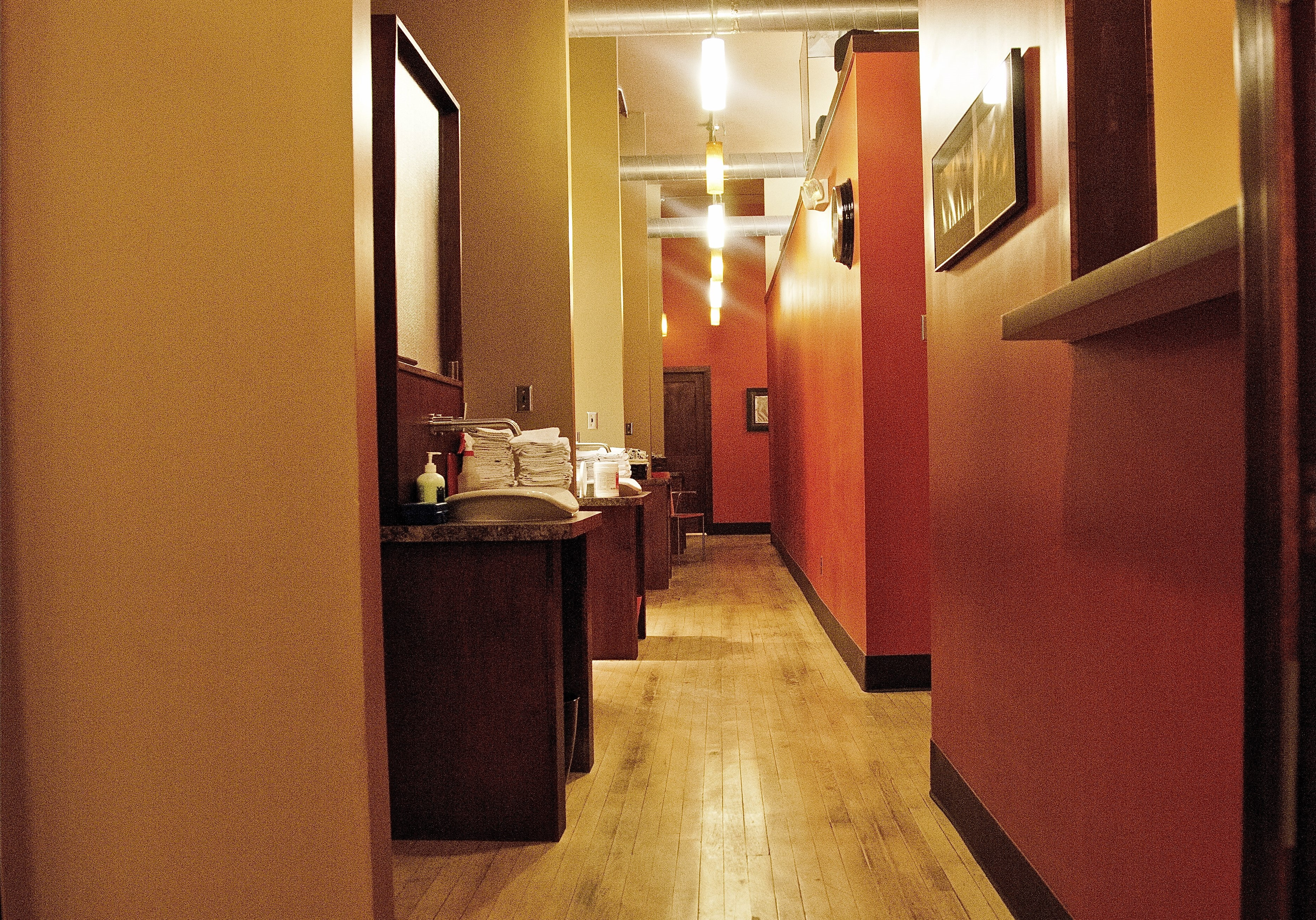 sheldon office hallway